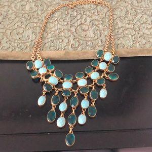 Art Deco turquoise necklace